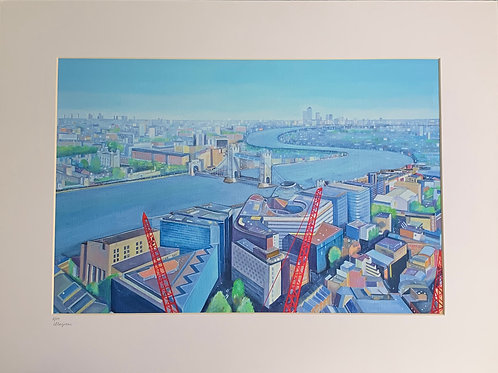 View from the Shard fine art print