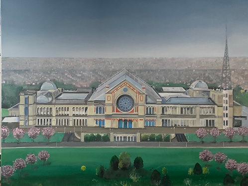Alexandra Palace in Spring