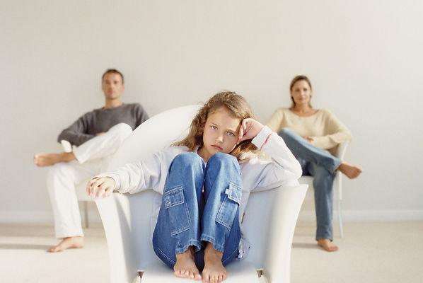 родители, дочь, развод, семья, папа, мама