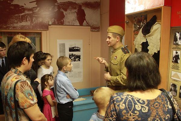 музей, места боевой славы