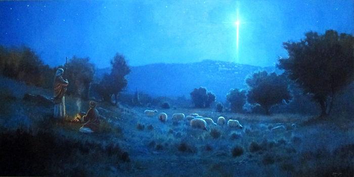 вифлемская звезда, пастухи, рождество
