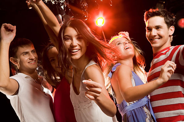 вечеринка, подростки, клуб, танцы