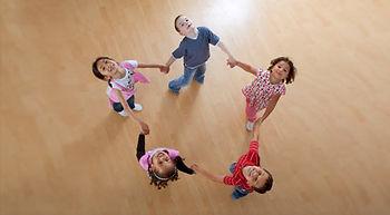 дети, круг, хороод, игра