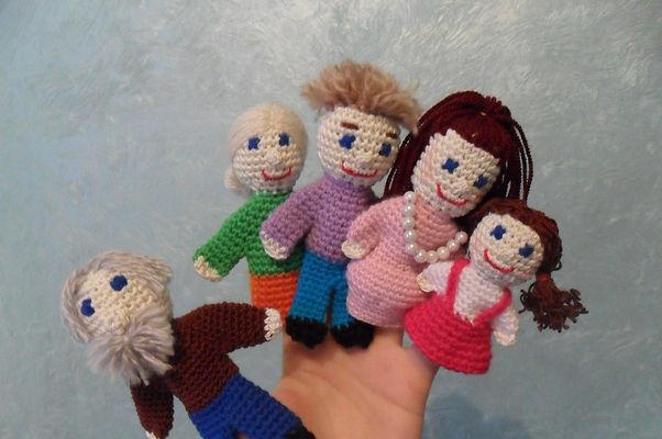 рука, пальцы, куклы на пальцы