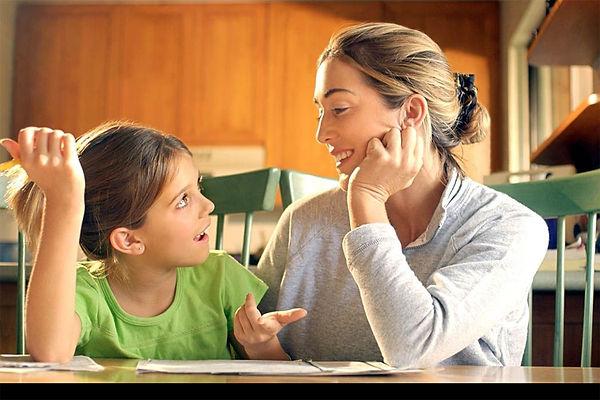 мама беседует с дочерью, мама, дочь, беседа