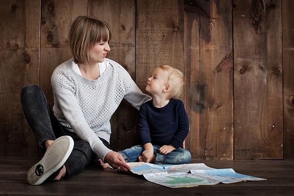 карта, мама, сын