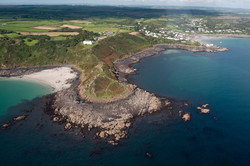 The Headland from the air