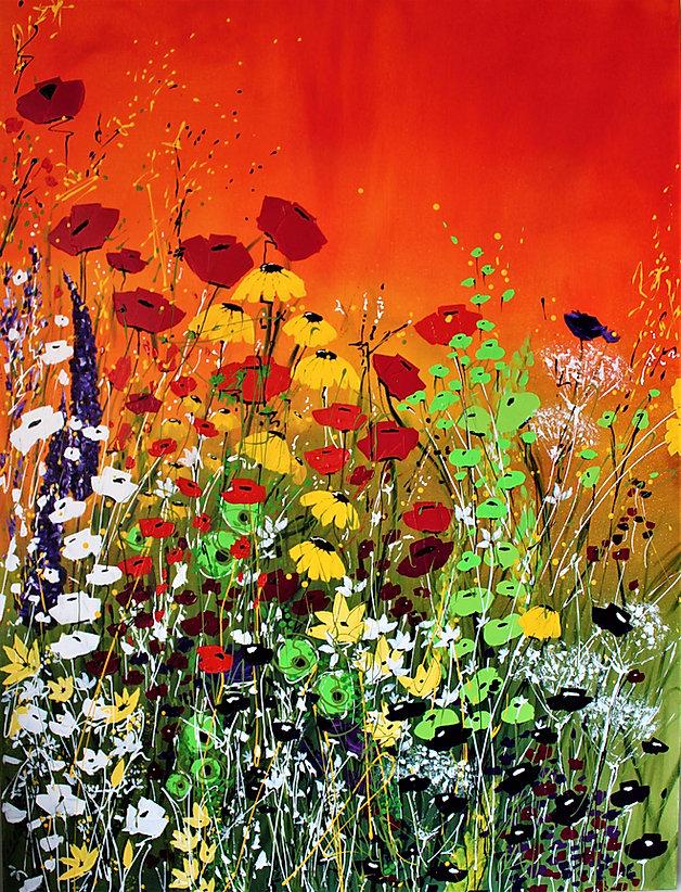 Acrylic on Canvas   36 x 48   21C3AC