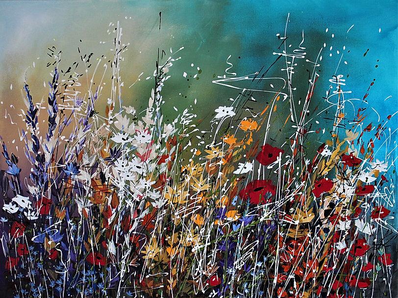 """Acrylic on Canvas  48"""" x 36""""    2031AC"""
