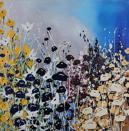 Acrylic on Canvas  24_ x 24_  21G2AC
