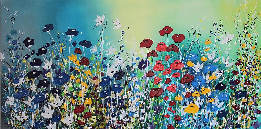 Acrylic on Canvas 48 x 24  21B2AC