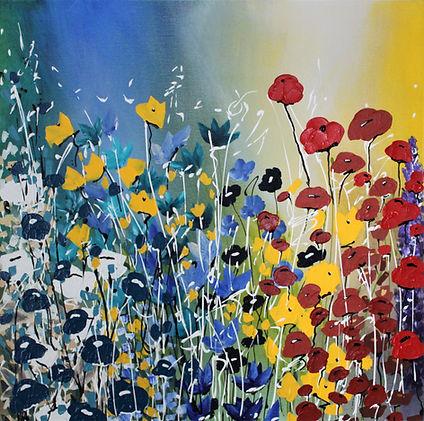 Acrylic on Canvas  24_ x 24_   21G3AC