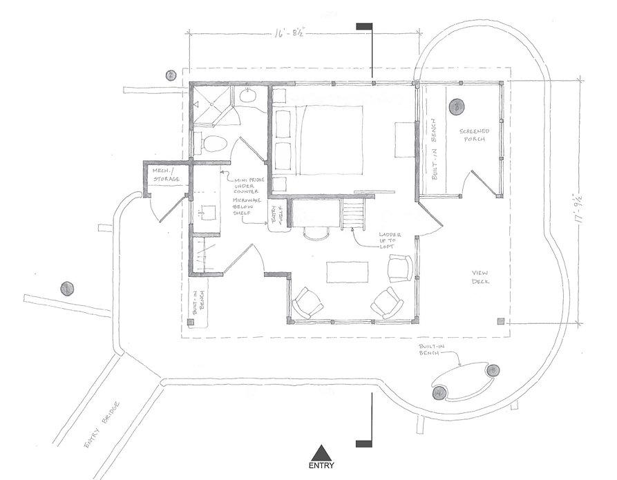 The Magnolia Treehouse Main Floor Plan