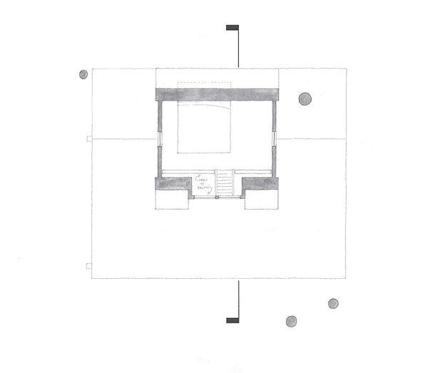 The Magnolia Treehouse Loft Floor Plan