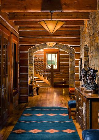Perfectly Designed Hallway