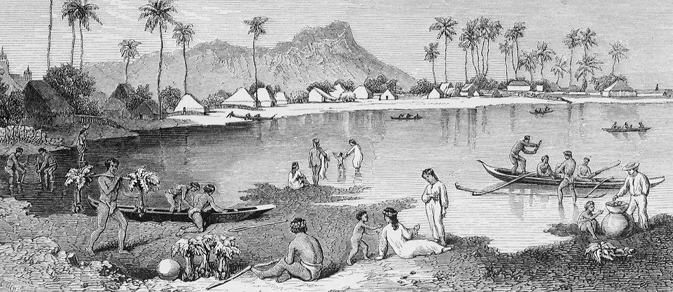 Diamond_Head,_Honolulu,_1869,_after_Burg
