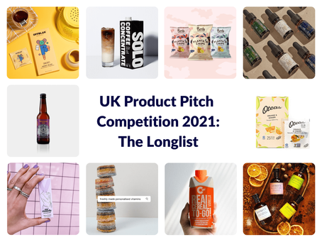 UK Product Pitch Competition 2021: The Longlist