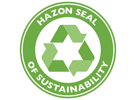 DWI joins the Hazon Seal of Sustainability