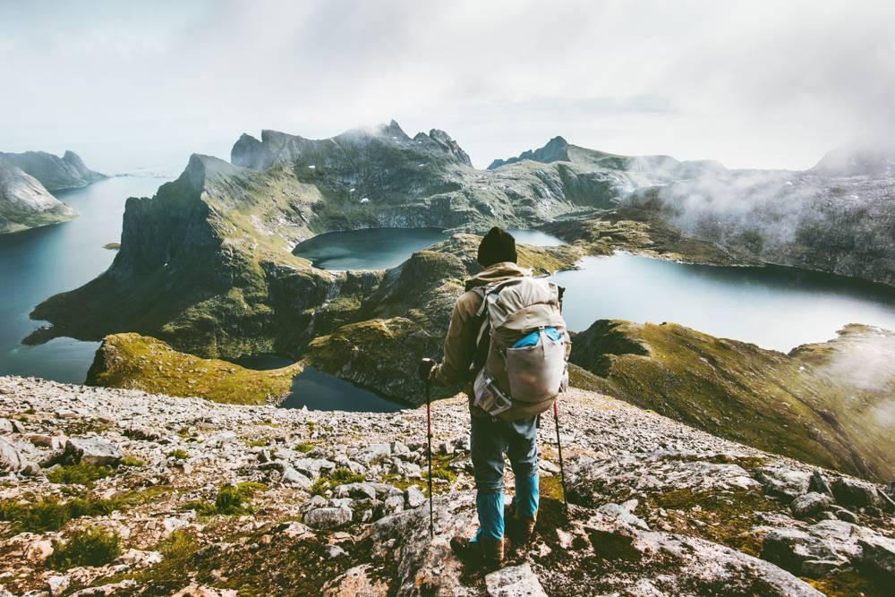 Lofoten Adaları yürüyüş