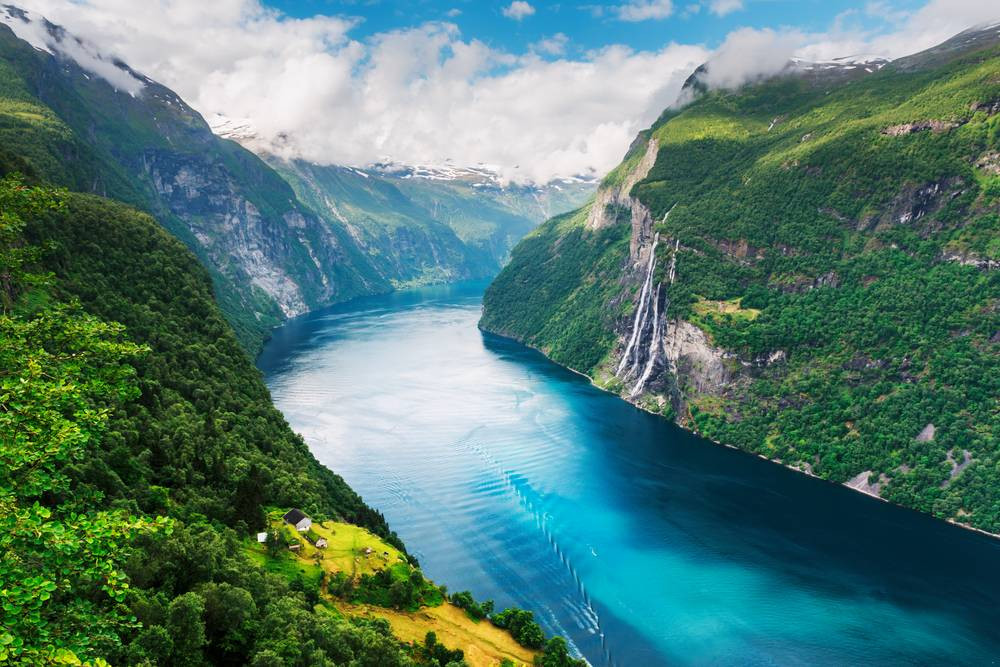 Norveç Fiyort ve Şelaleler