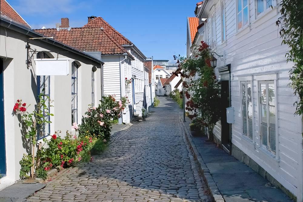 Stavanger Ahşap Mahalle