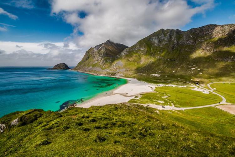 Uttakleiv Sahili, Lofoten Adaları