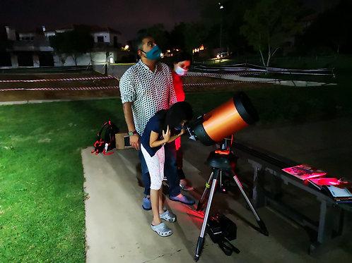Telescope Evening Gift e-Card (1 Hour)