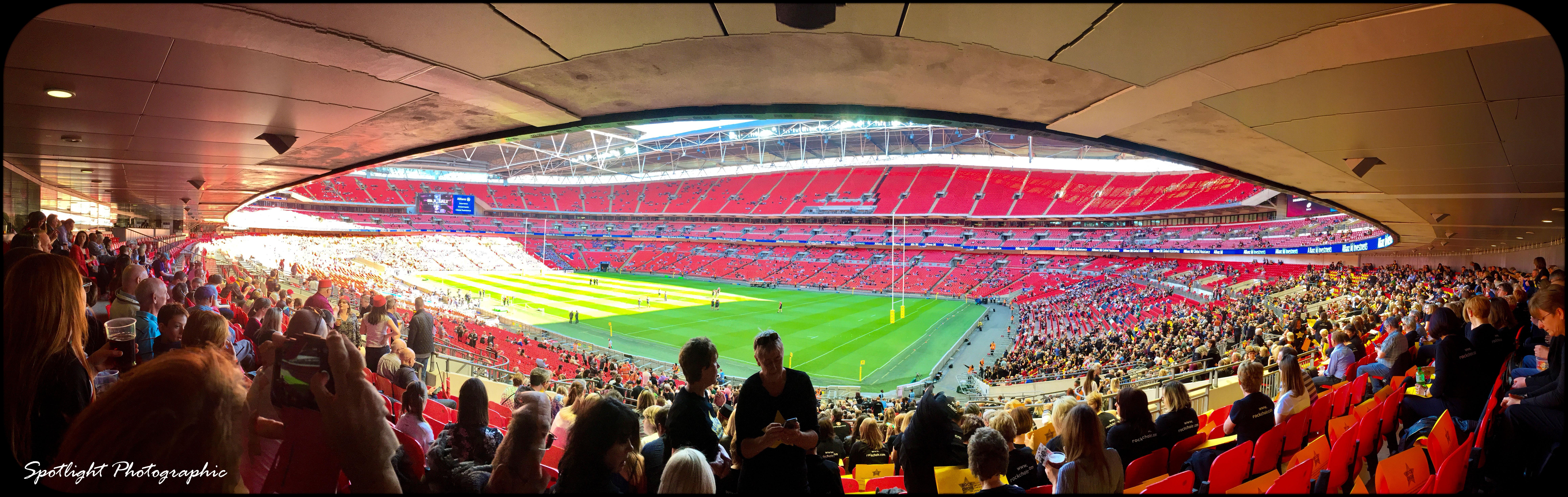 panoramic Wembley