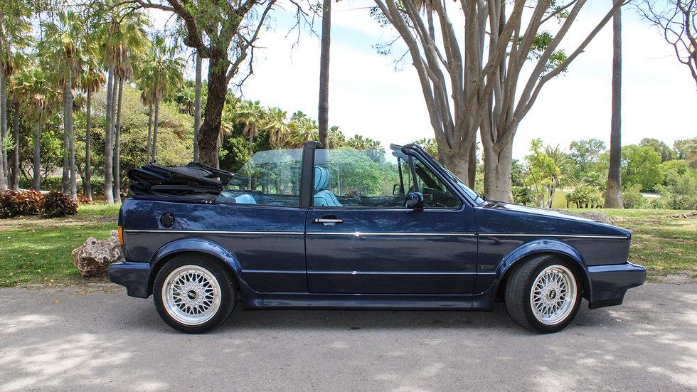 Golf VW GLI Cabrio Classic