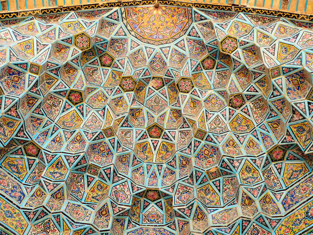 Nasr ol Molk Mosque Vaulted Ceiling