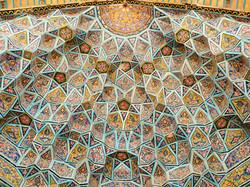 Nasr ol Molk Mosque Ceiling