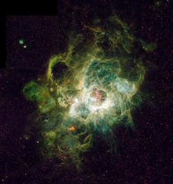 The Triangulum Emission Garren Nebula