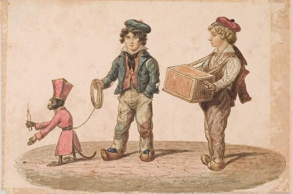 Edward-Williams-Clay-Organ-Grinder-with-Monkey-1828