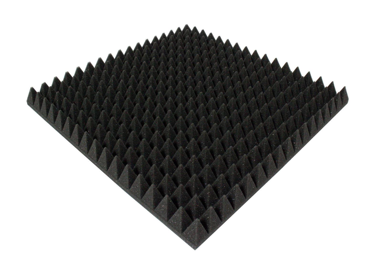 Acoustic Foam Pyramid Tiles