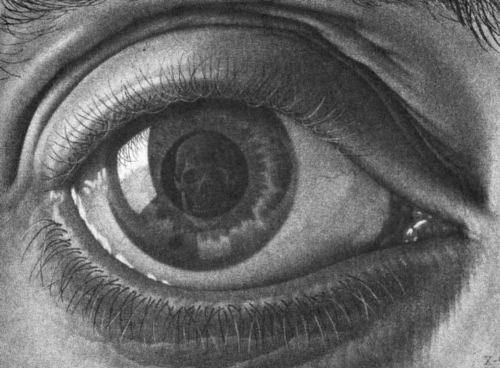 M.C. Escher and Trompe l'oeil