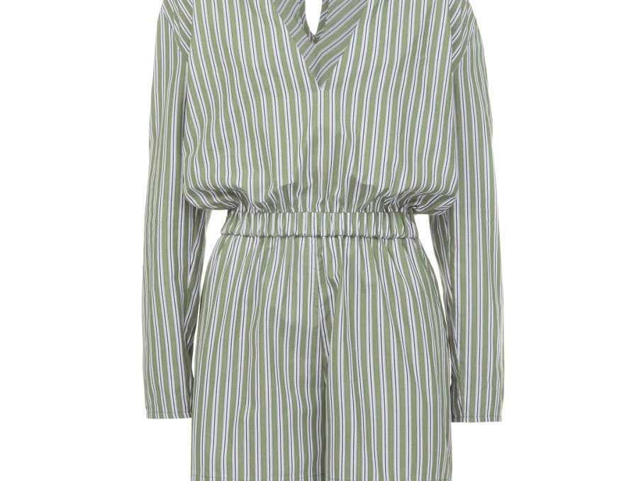 jumpsuit in stripe