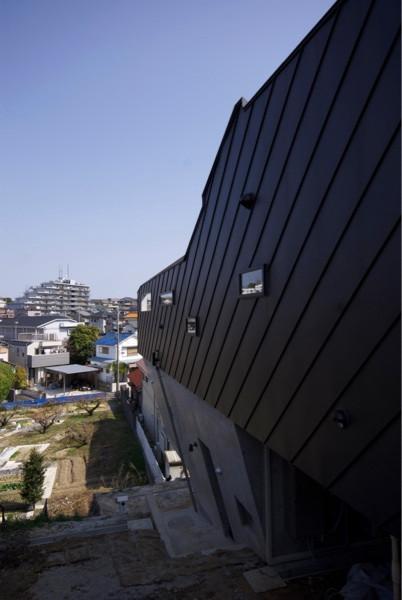 名古屋 斜面地 住宅