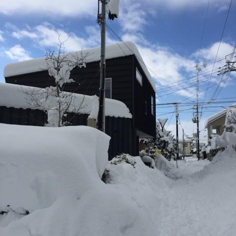 雪国の住宅