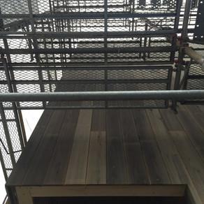 木造と鉄骨造2つの現場