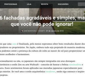 『homify』ポルトガル に掲載頂きました。