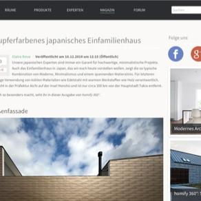 『homify』ドイツ 『Architizer』アメリカ に掲載頂きました。