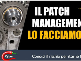 Il Patch Management è una cosa seria!