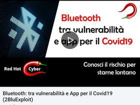 il Bluetooth per le APP Covid, è sicuro? Vediamo come hackerare un servizio Bluetooth.
