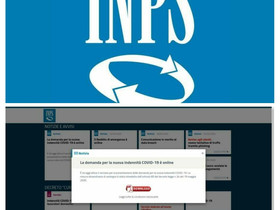 Sito INPS fake che distribuisce Trojan APT agli utenti.