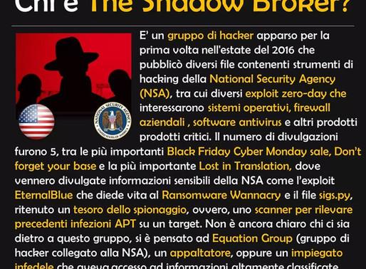 Per la serie BlackHat Hacker, oggi parliamo di The Shadow Broker