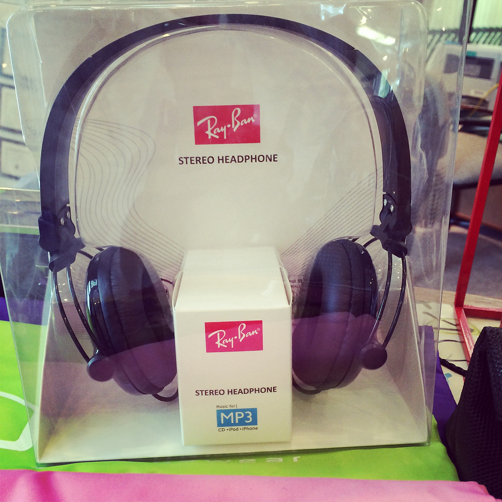 Ray Ban Headphones - Prize