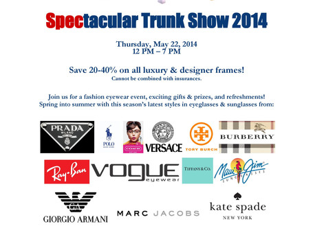 Spring SPECtacular Trunk Show 2014