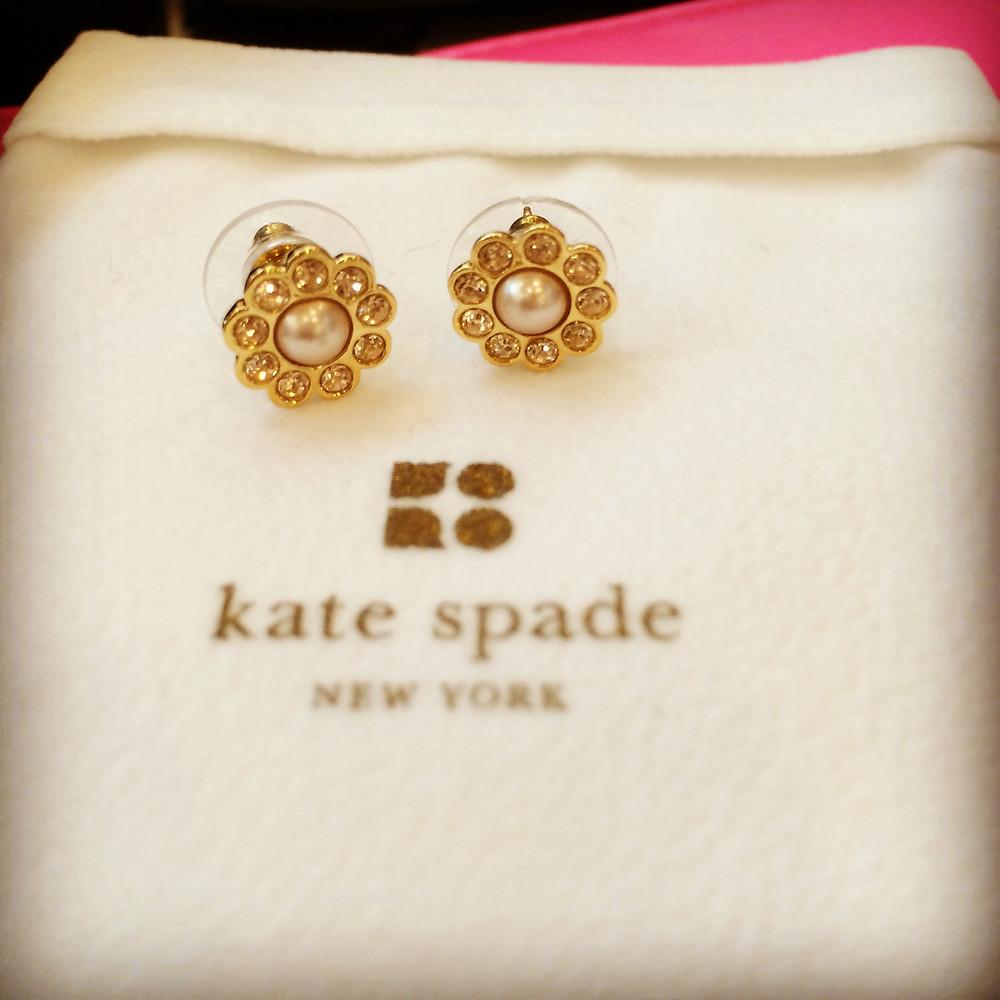 Prize - Kate Spade earrings