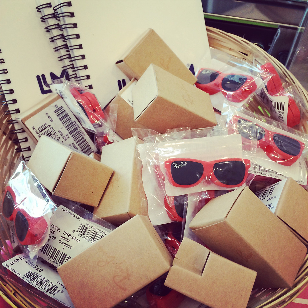 Gifts - Ray Ban Speakers & clips for smart phones