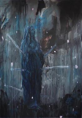 La vierge Noire transperçée